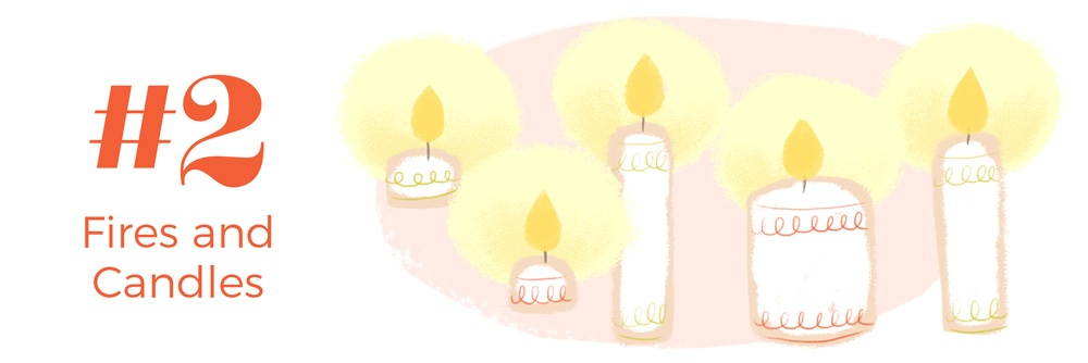 Fires and Candles