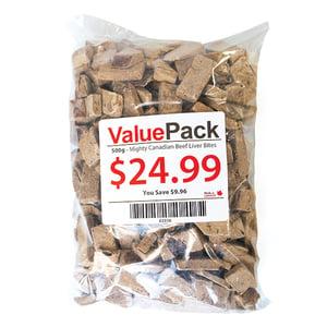ValuePack Canadian Beef Liver Dog Treats