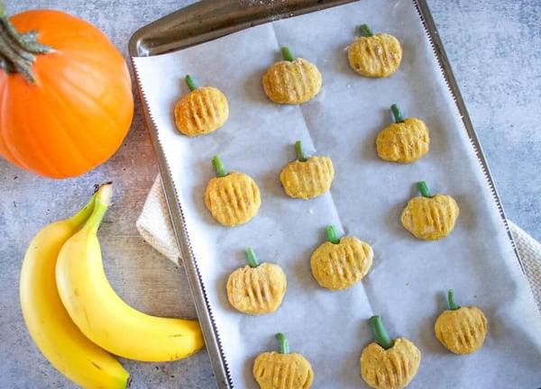 Banana-Pumpkin-Dog-Treats