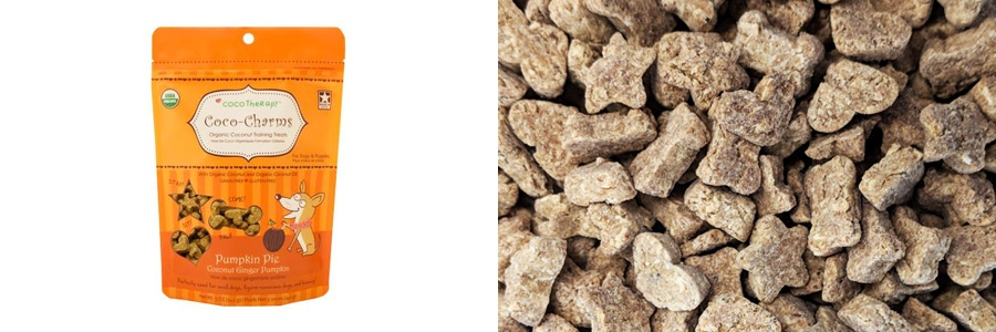 coco-charms pumpkin pie dog treats